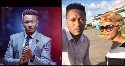 """""""Get a husband and I will pray for your marriage!"""" DJ Mo goes for Njoki Chege's neck"""