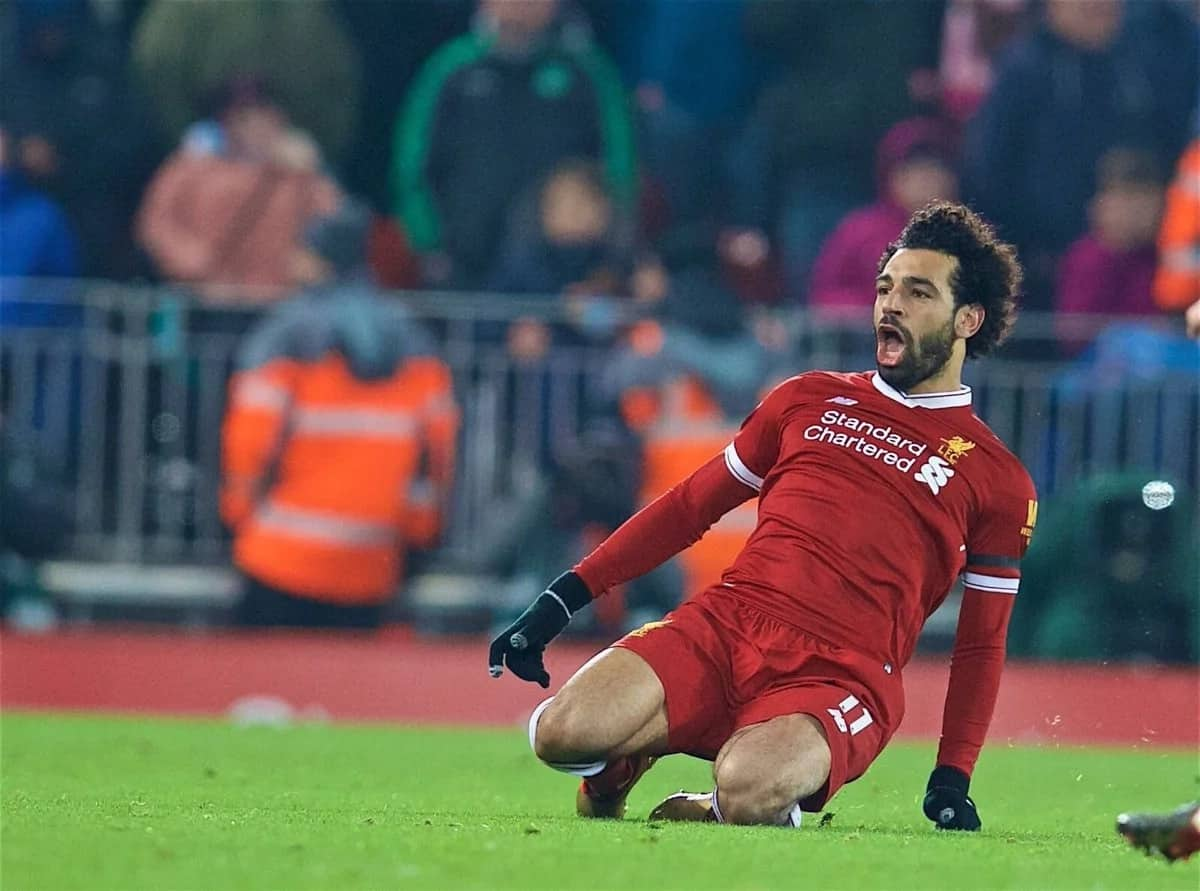 Salah suffers injury setback in Liverpool's victory over Man City