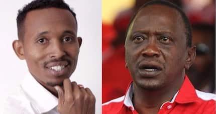 Audio emerges of 'Moha Jicho Pevu endorsing Uhuru's re-election'