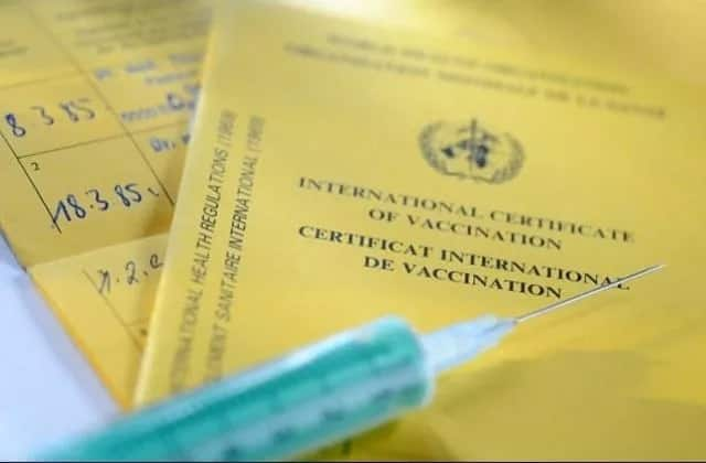 Kenyans being injected water instead of yellow fever vaccine by rogue health officials