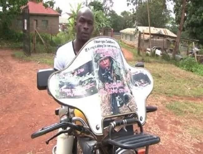 Embu man appeals to Uhuru to offer him KDF job