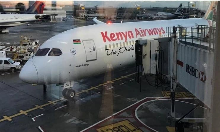 KQ historic direct flight to US lands safely in New York after 15 hours