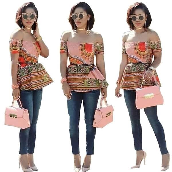 Top trending women's dashiki shirt designs 2018