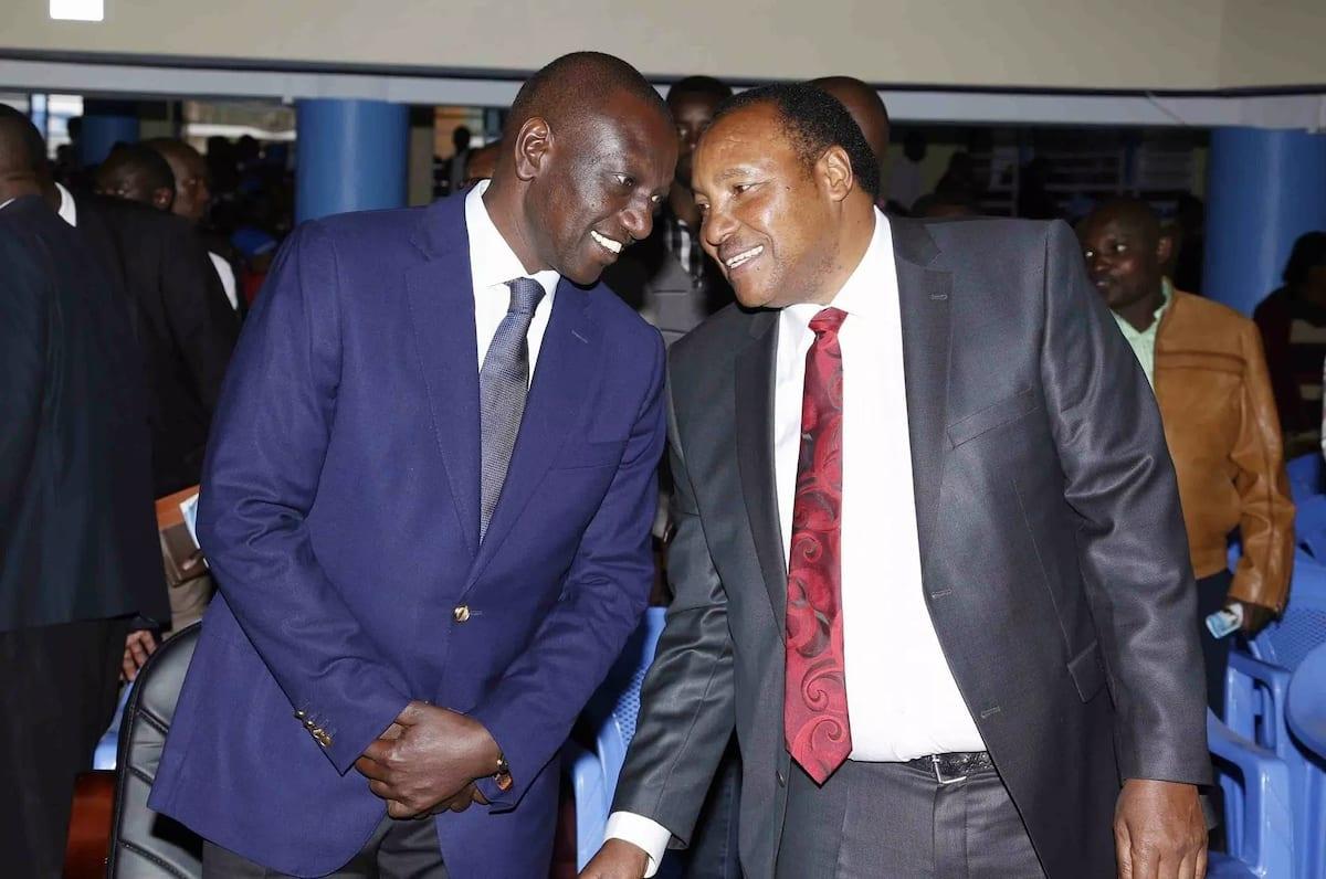 Koma kumzomea Ruto, yeye sio mkeo – Mbunge wa Mlima Kenya amkaripia Raila