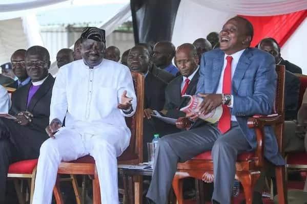 Raila Odinga ready for talks with Uhuru, rules out coalition government
