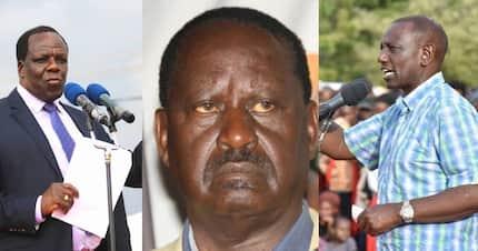 William Ruto must apologise for disrespecting Raila Odinga - Oparanya