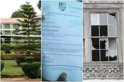 SCARE as University students from bandit-stricken region engage in violent protests
