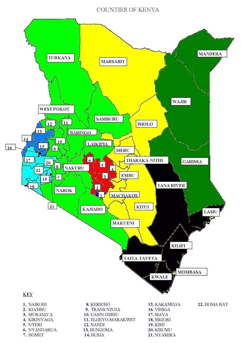 List of all county numbers in Kenya ▷ Tuko.co.ke Kenya County Map on constitution of kenya, ecuador county map, vice-president of kenya, kenya map showing counties, local authorities of kenya, kenya map detailed, argentina county map, cabinet of kenya, kenya colony map, national assembly of kenya, kenya town map, locations of kenya, israel county map, kenya ethnic map, administrative divisions of kenya, el salvador county map, kenya topographical map, speaker of the national assembly of kenya, guam county map, kenya police map, kenya route map, russia county map, kenya district map, kenya political map, manitoba canada county map, iran county map, kenya county jobs, kenya industry map,