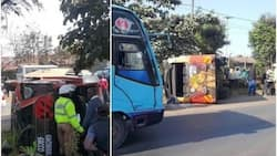 Another Rongai matatu involved in a scary accident, details