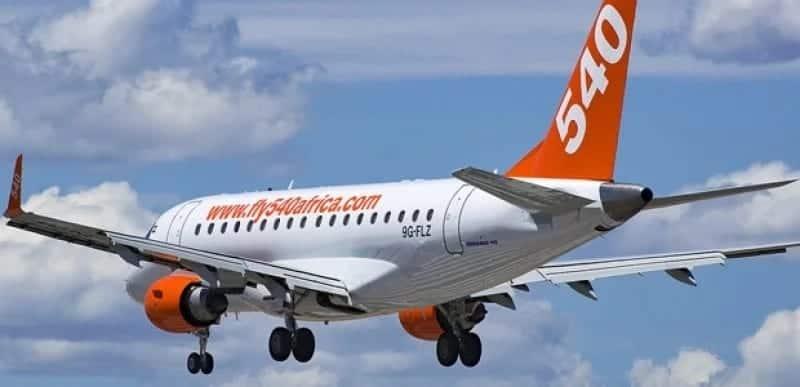Fly 540 contacts, Fly 540 Kenya contacts, Contacts Fly 540