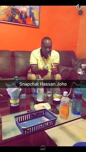 See a rare photo of Hassan Joho smoking shisha