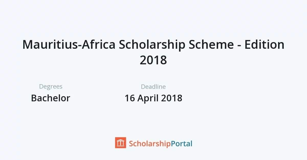 Ministry of Education Kenya scholarships 2018