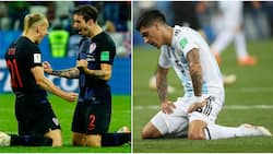 Croatia defender Vrsaljko compares Messi and teammates to crying girls after 3-0 thrashing