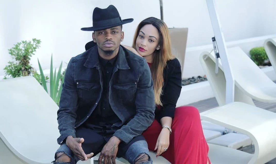 Diamond's ex-girlfriend leaves nothing to the imagination in explosive instagram photos