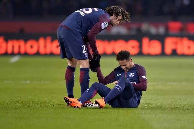 Kylian Mbappe hauled off with foot injury as problems worsen after Neymar blow