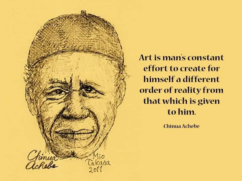 """""""Arrow of god"""" Chinua Achebe quotes"""