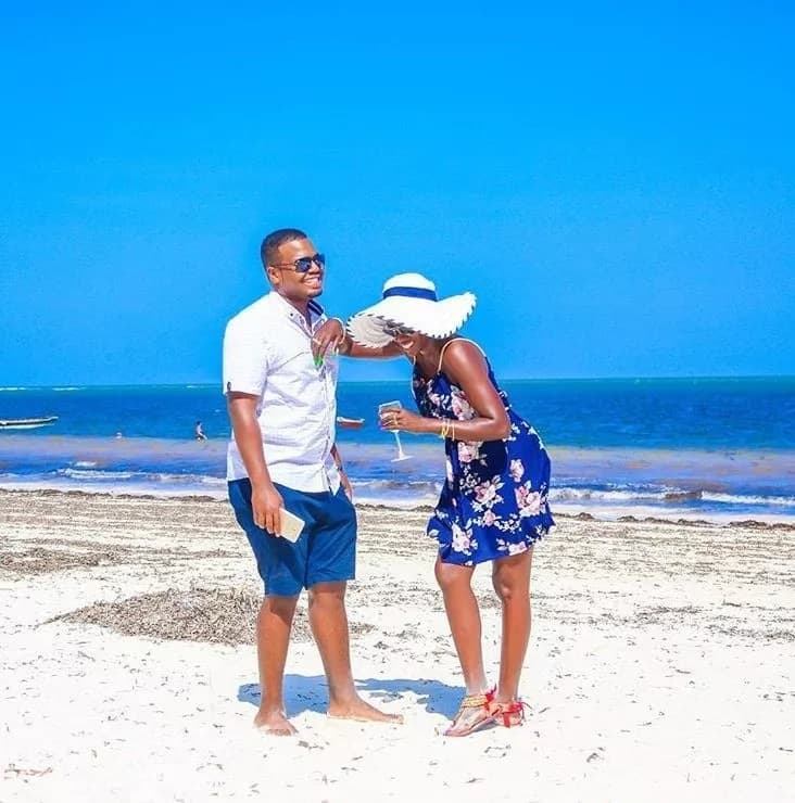 Image result for akothee romantic vacation
