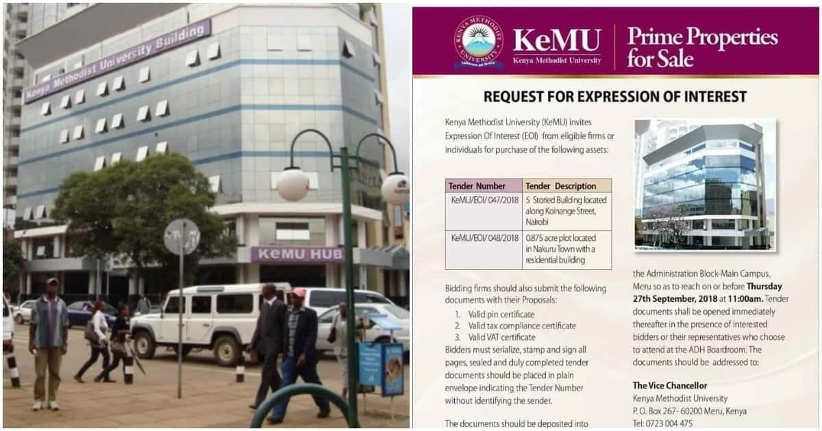 Kenya Methodist University puts up property for sale as it faces closure