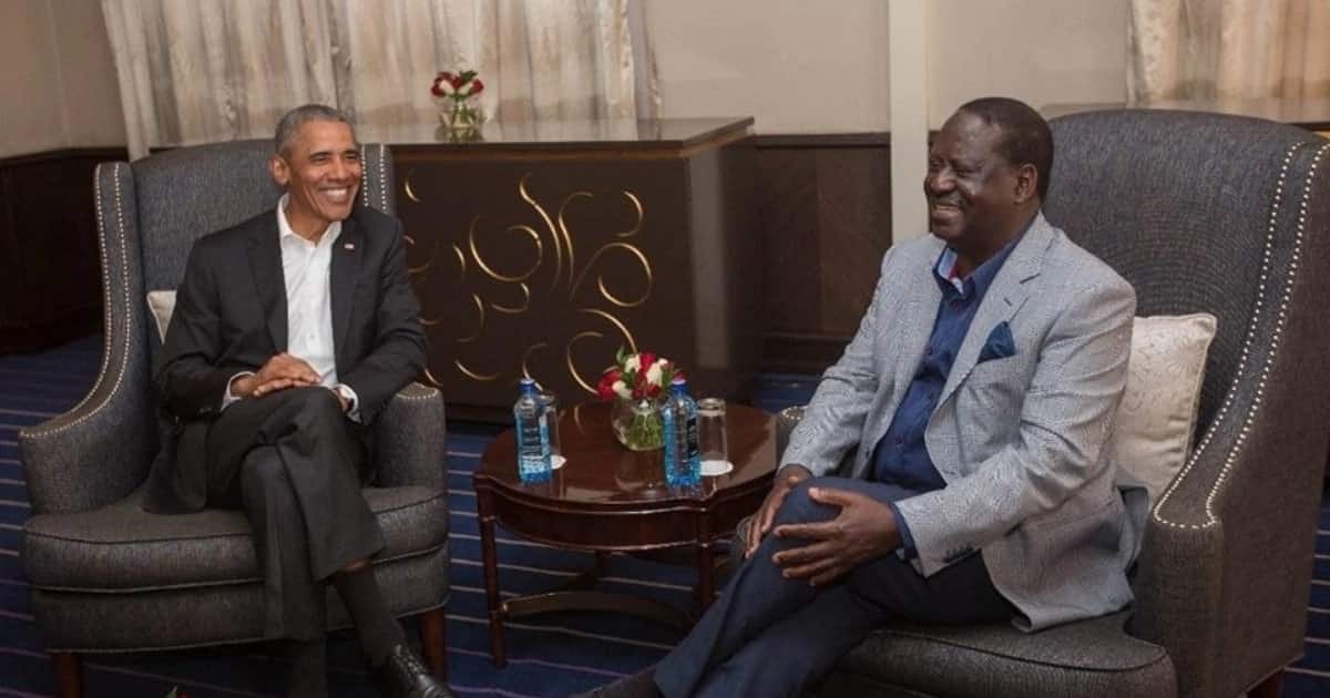 Details of Raila-Obama meeting at the former prime minister's office