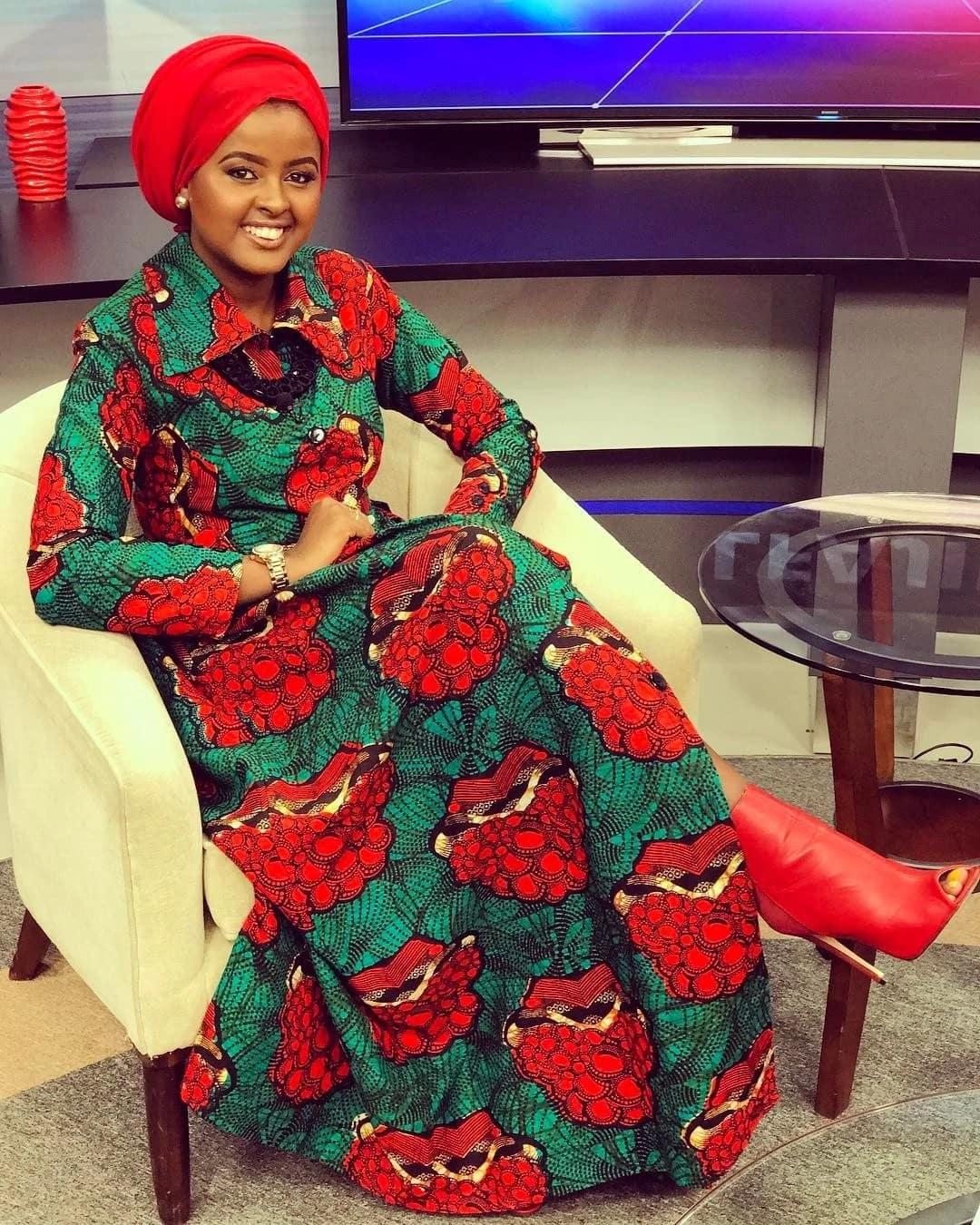 Mtangazaji mrembo wa NTV Amina Mohammed ajimwaya Kiislamu na kupendeza zaidi