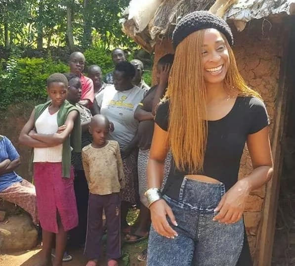 Popular Jamaican singer, Alaine brings Bungoma to a standstill