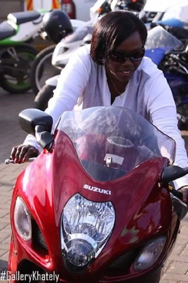 Martha Karua's stylish photos on a bike is the best thing every woman must see today
