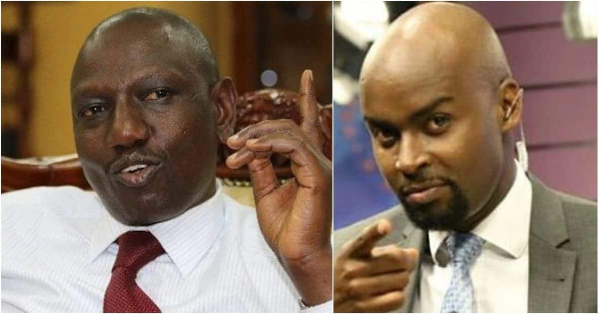 Kenyans take on NTV's Mark Masai following tense interview with DP William Ruto