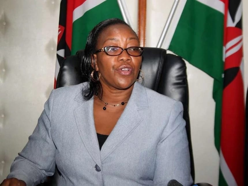 DP William Ruto comes to the defence of Health CS Sicily Kariuki against onslaught by Kalenjin MPs