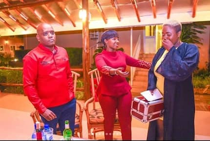 Popular actress Kate Kamau aka Celina surprises fans with cash and gifts to start their businesses