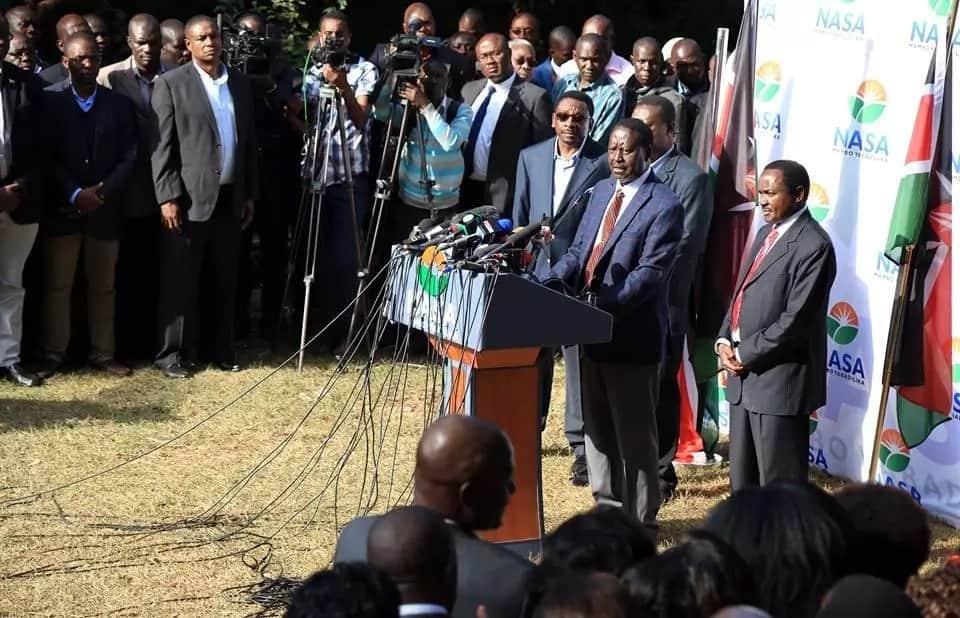 Mgombea urais aliyekuwa amtii kushindwa ajiunga na Raila kupinga matokeo ya urais