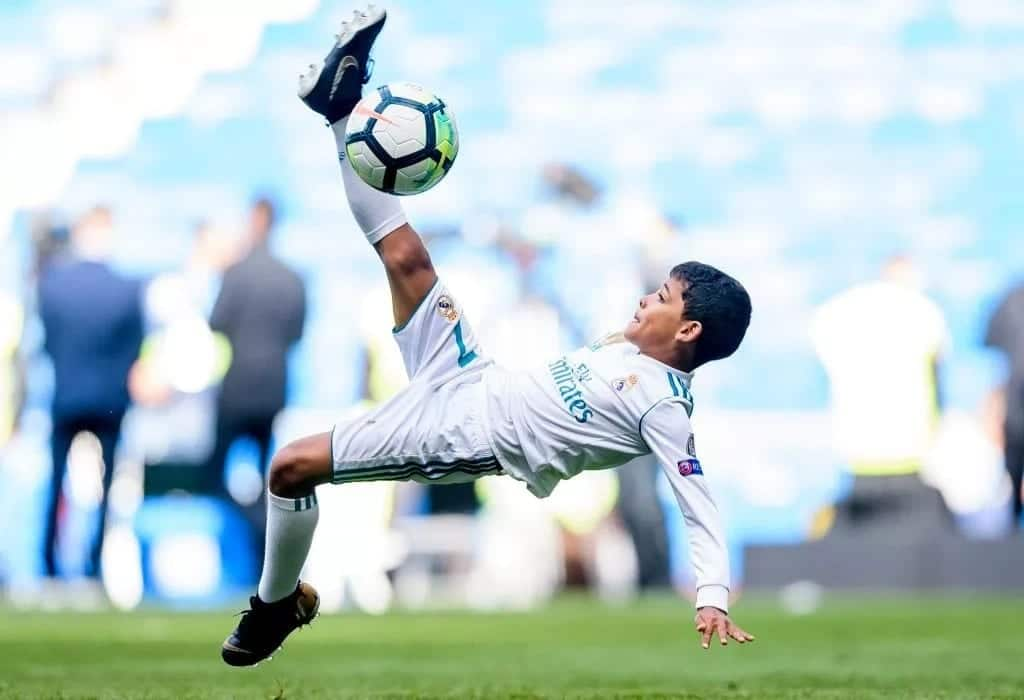 Cristiano Ronaldo's son joins Juventus football academy