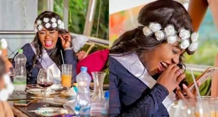 Lilian Muli looks like a snack in recent photo showing her face days after delivery