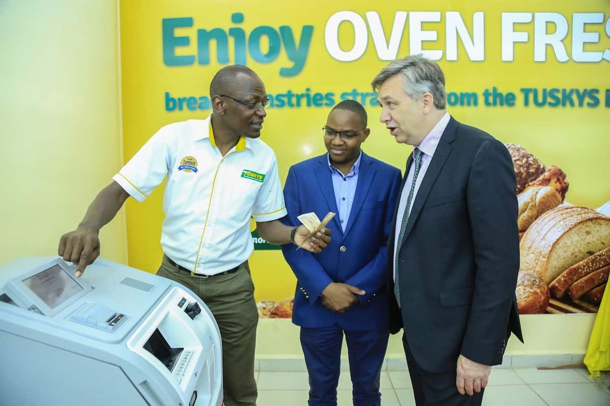 Tuskys supermarket instals intelligent cash deposit machines as it battles employee theft