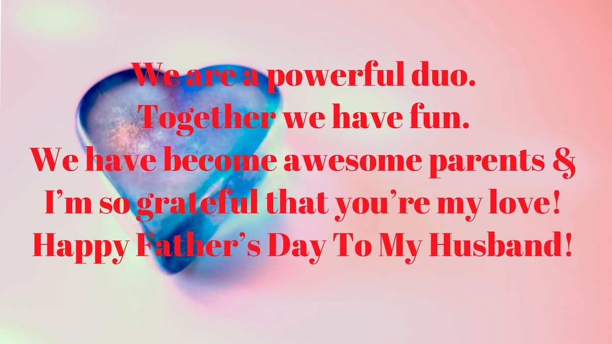 fathers day messages from wife
