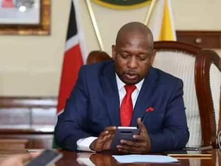 Sonko given 7 days to name deputy failure Nairobi county government risks dissolution