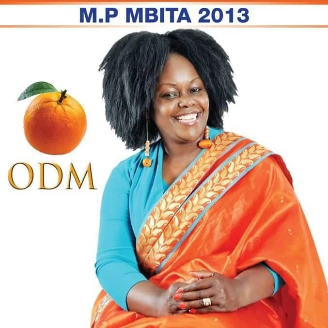 MP Millie Odhiambo considering giving birth at age 53