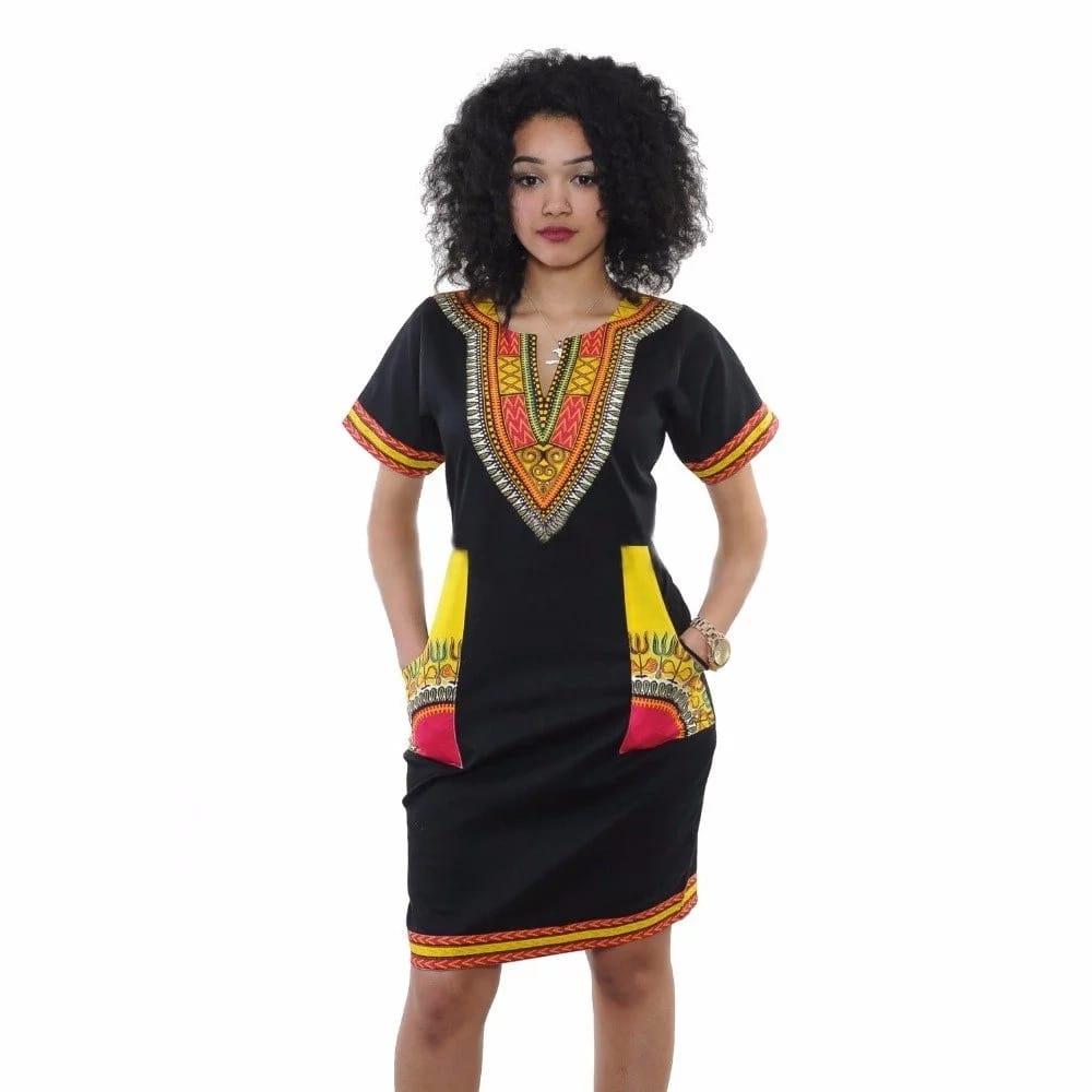 Simple kitenge designs for slim ladies