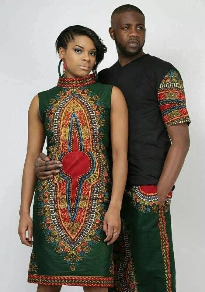 Latest Kitenge designs for couples