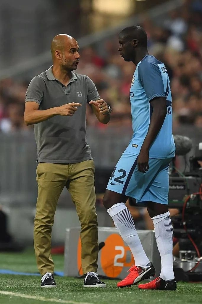 Former Arsenal star Emmanuel Eboue slams Guardiola for ill-treatment against Yaya Toure