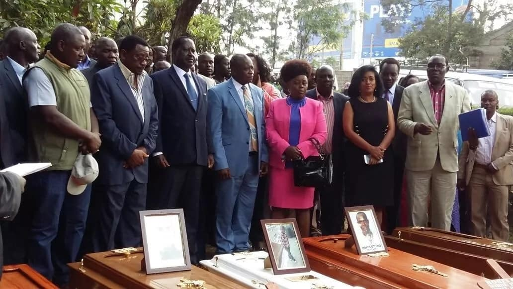 Govt should apologise to parents of 7-year-old Geoffrey Mutinda and other victims of police brutality-Raila