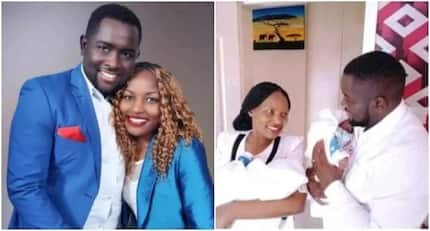 Bitter sweet feeling for Papa Shirandula's Kawira and hubby after losing one of their triplets
