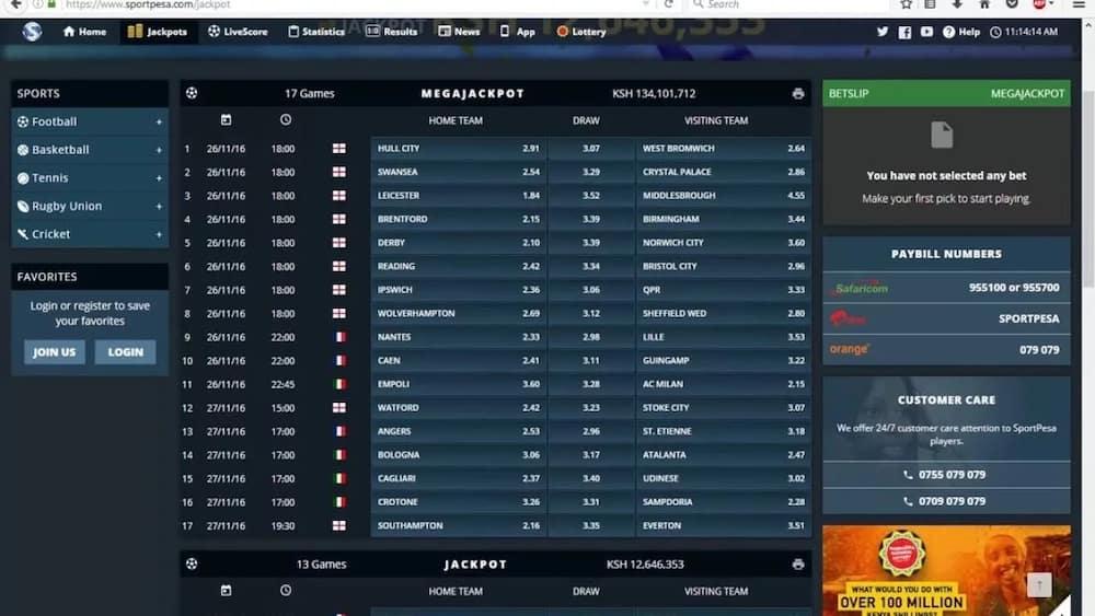 sportpesa jackpot prediction analysis