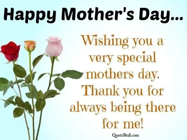 Thank you Mother's Day quotes 2018