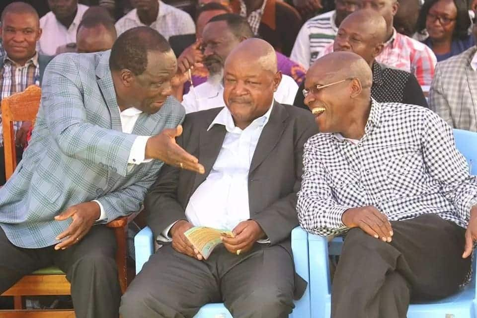 Raila says Wetang'ula is snubbing his phone calls making reconciliation difficult