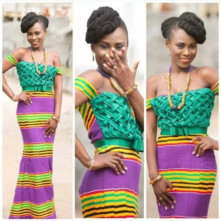 Short and long African print dresses for ladies 2018