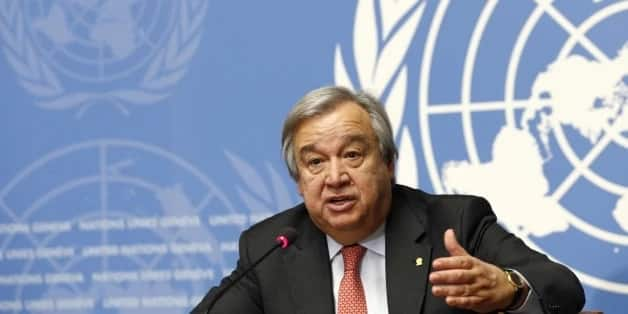 The UN Secretary-General Antonio Guterres.
