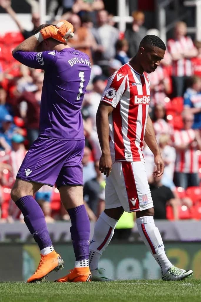Stoke City finally relegated after a decade of Premier League football