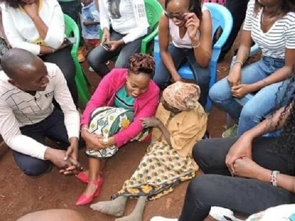 Murang'a granny living in dilapidated condition moves Kenyans