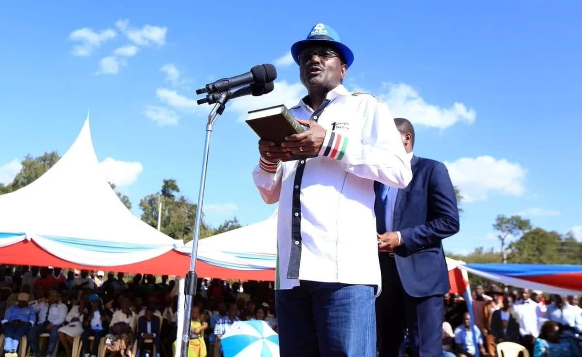 Forget it, Kalonzo will not take oath like Raila - Wiper leaders