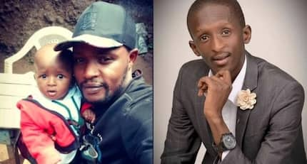 Man shares photo of comedian Njugush's lookalike toddler and Kenyans cannot keep calm